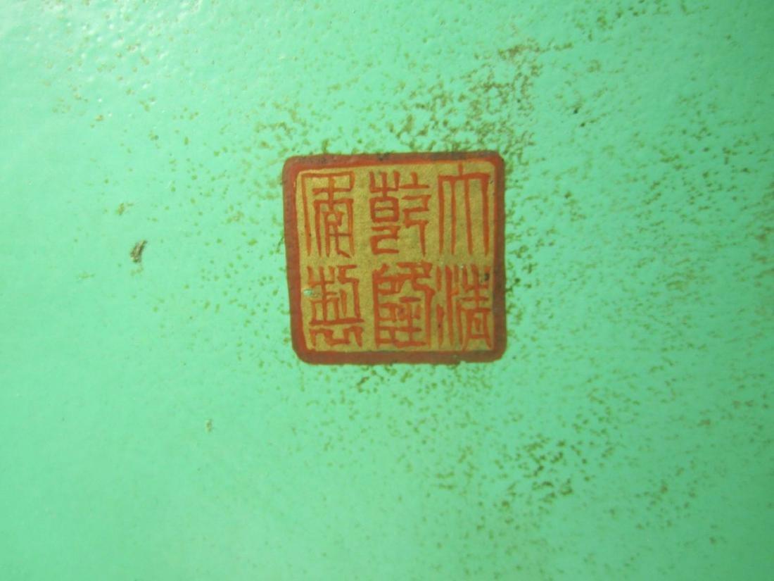 CHINESE FAMILLE ROSE PORECLAIN VASE - 9