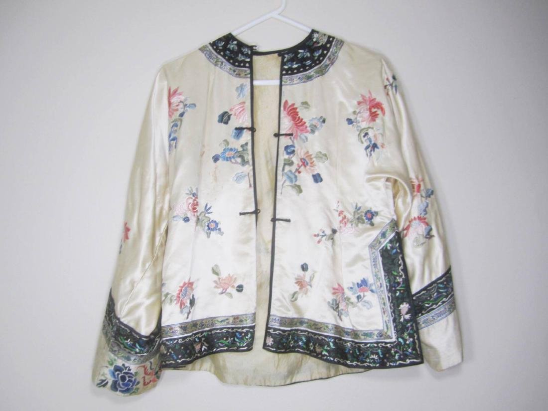 ANTIQUE CHINESE EMBROIDERY JACKET