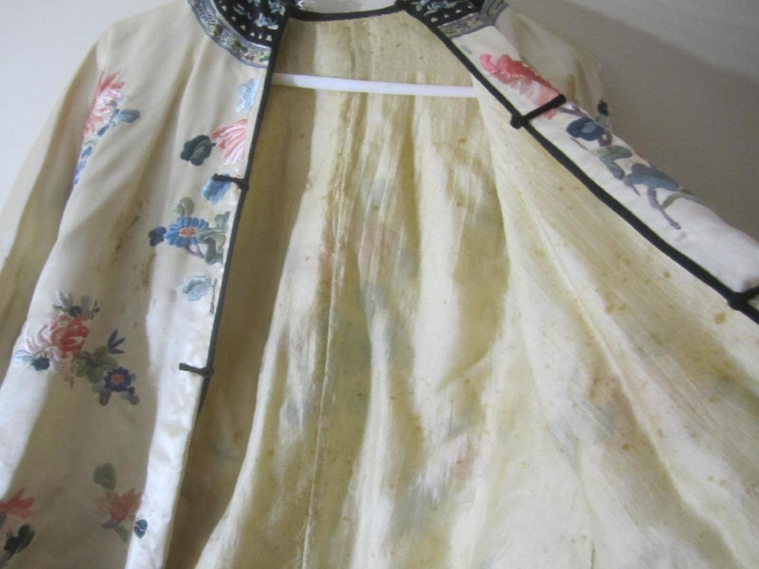 ANTIQUE CHINESE EMBROIDERY JACKET - 5
