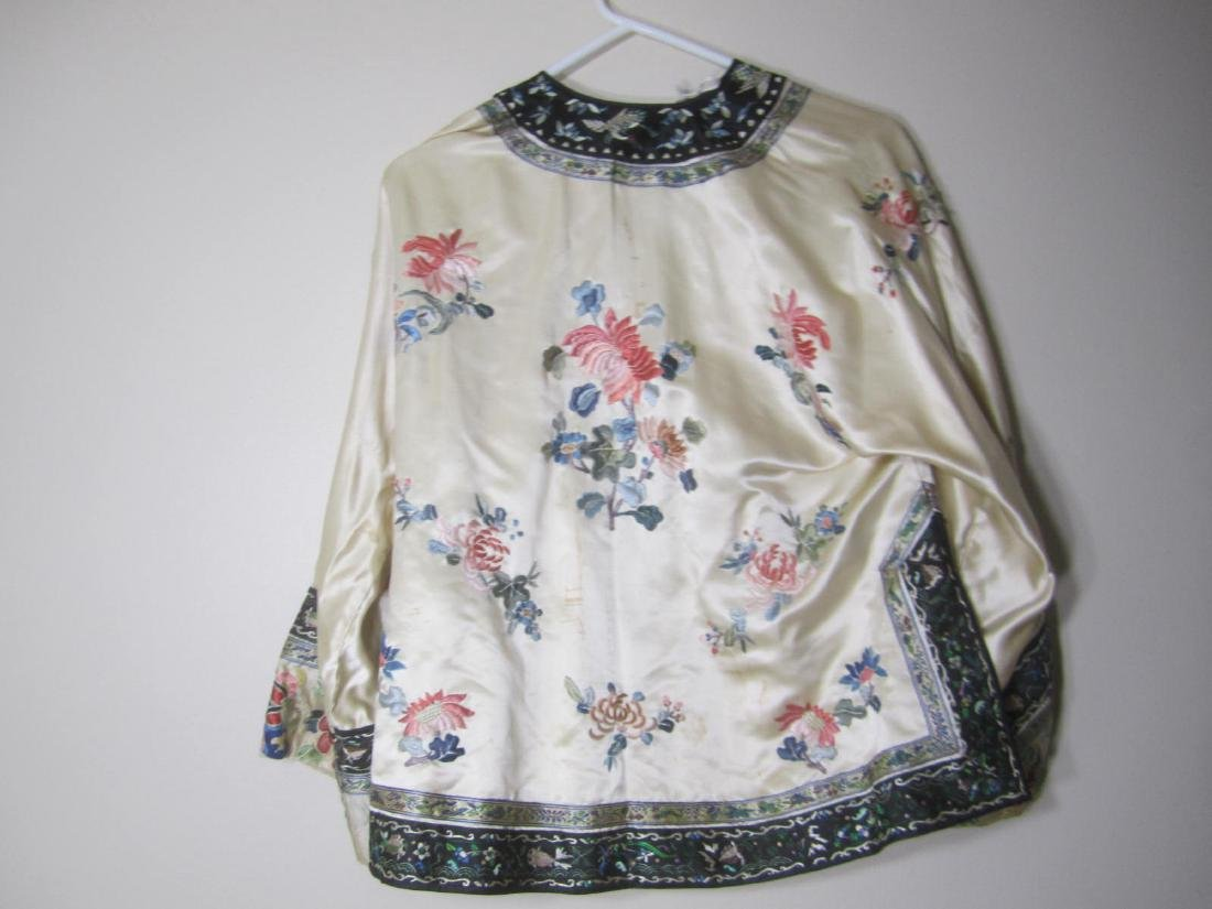 ANTIQUE CHINESE EMBROIDERY JACKET - 6