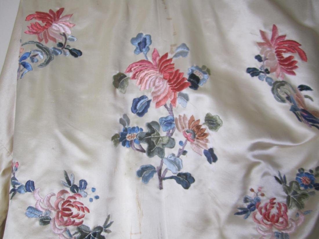ANTIQUE CHINESE EMBROIDERY JACKET - 7