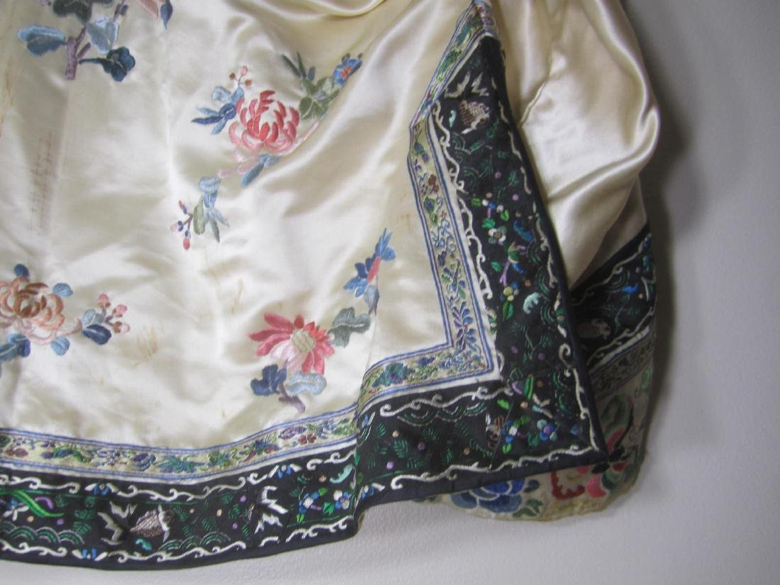 ANTIQUE CHINESE EMBROIDERY JACKET - 8