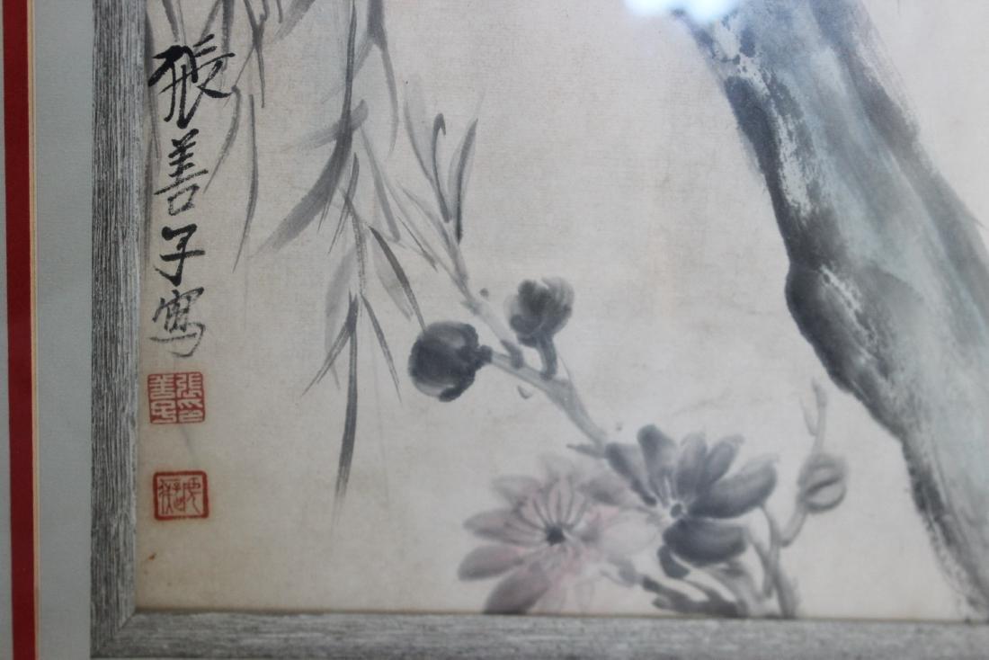 CHINESE WATERCOLOR PAINTING-ZHANG SHAN ZI - 3