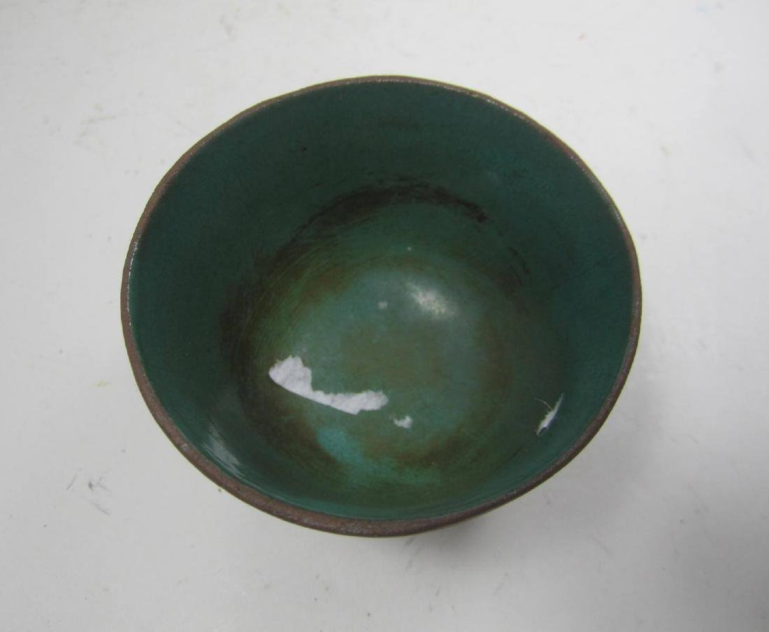 AN ASIAN POTTERY CUP - 3