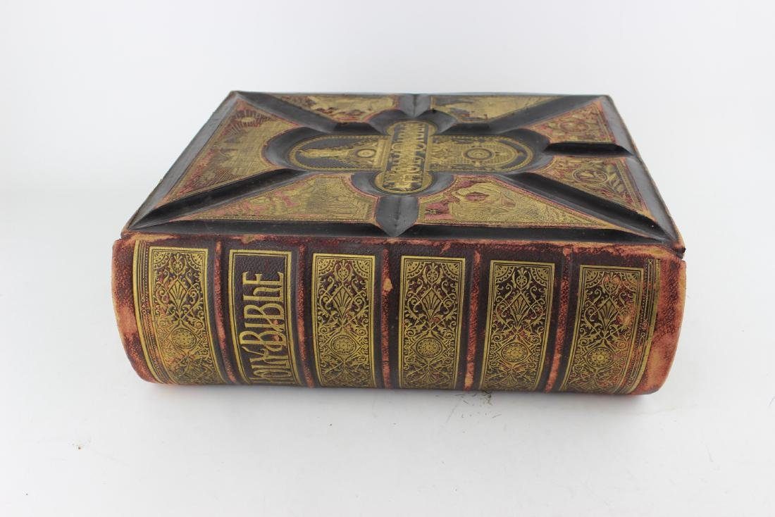 1880 THE HOLY BIBLE BY JOHN E. POTTER & COMPANY