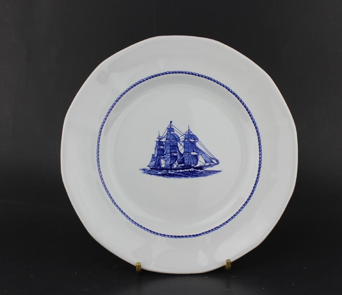 AMERICAN CLIPPER GEORGETOWN COLLECTION PLATE