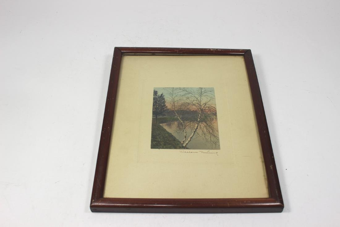 WALLACE NUTTING PHOTOGRAPH SIGNED
