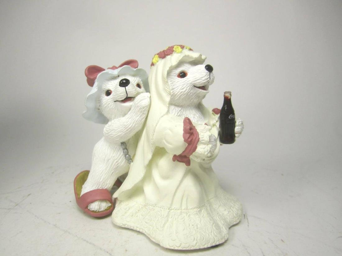 1996 COCA-COLA PORCELAIN POLAR BEARr