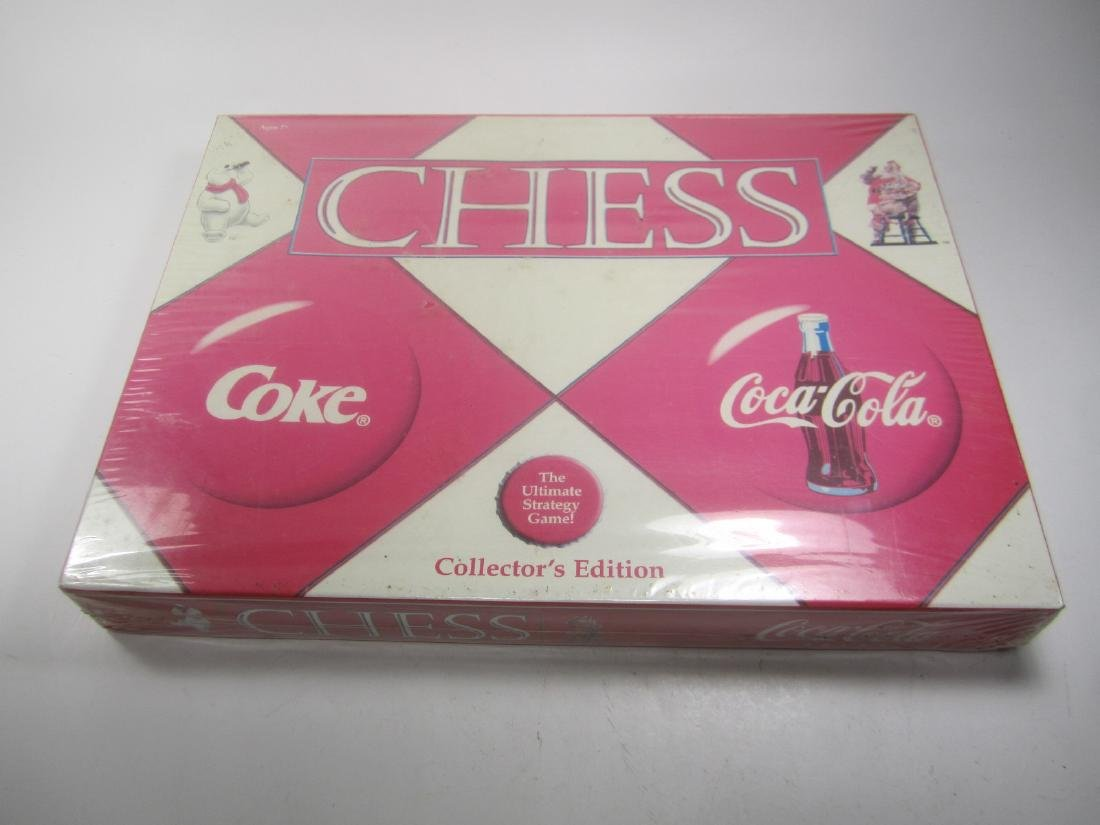 2002 USAOPOLY COCA-COLA CHESS