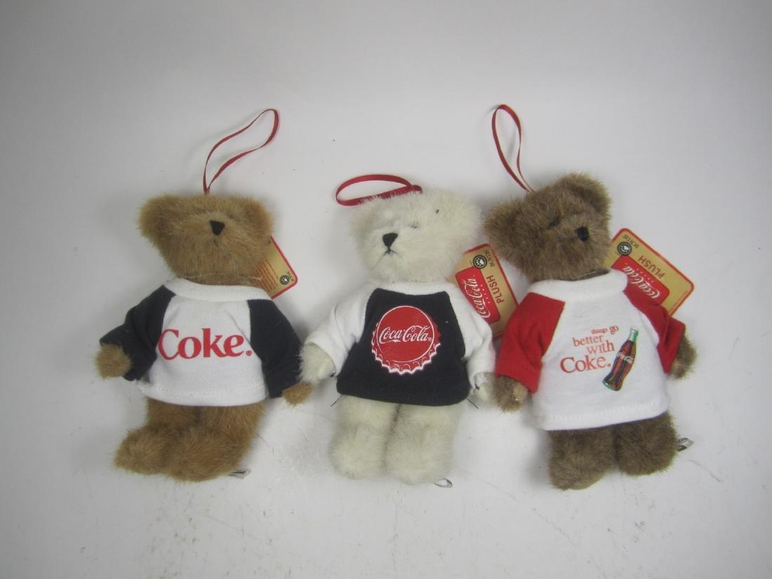 THREE BOYDS COKE PLUSH POLAR BEARS