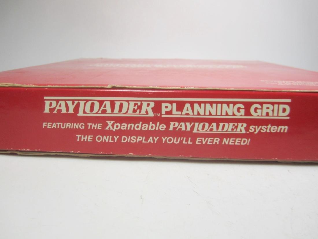 1988 COCA-COLA PAYLOADER PLANNING GRID - 2