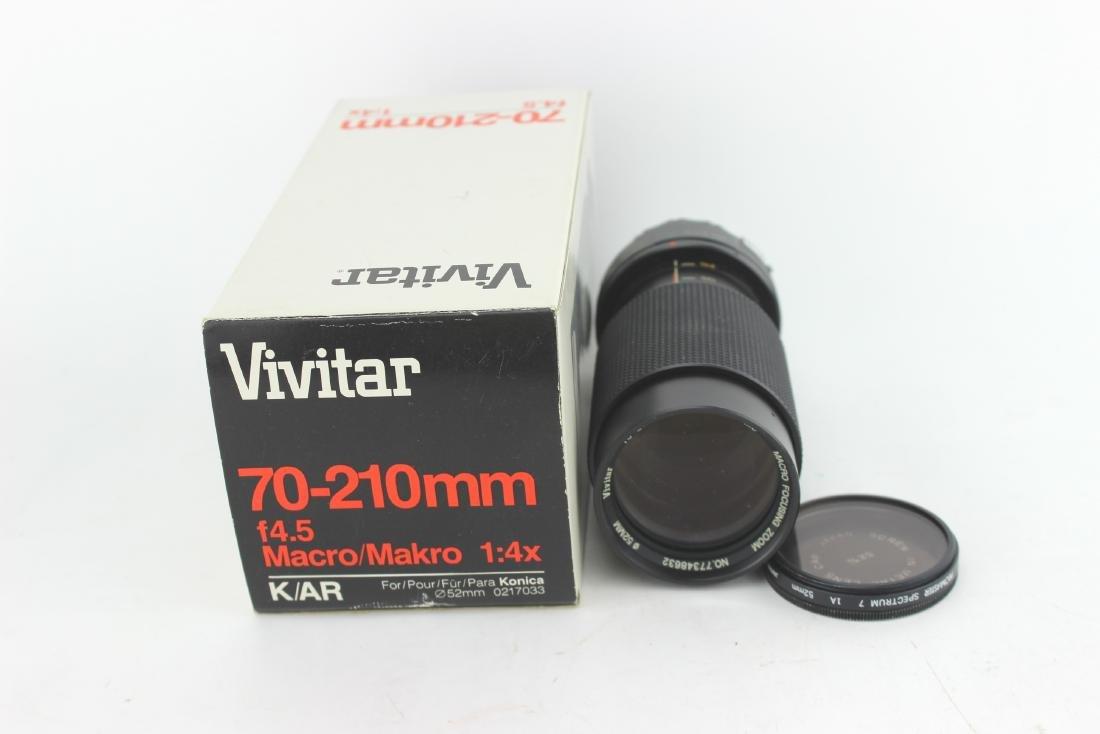 VIVITAR 70-210 MM LENS
