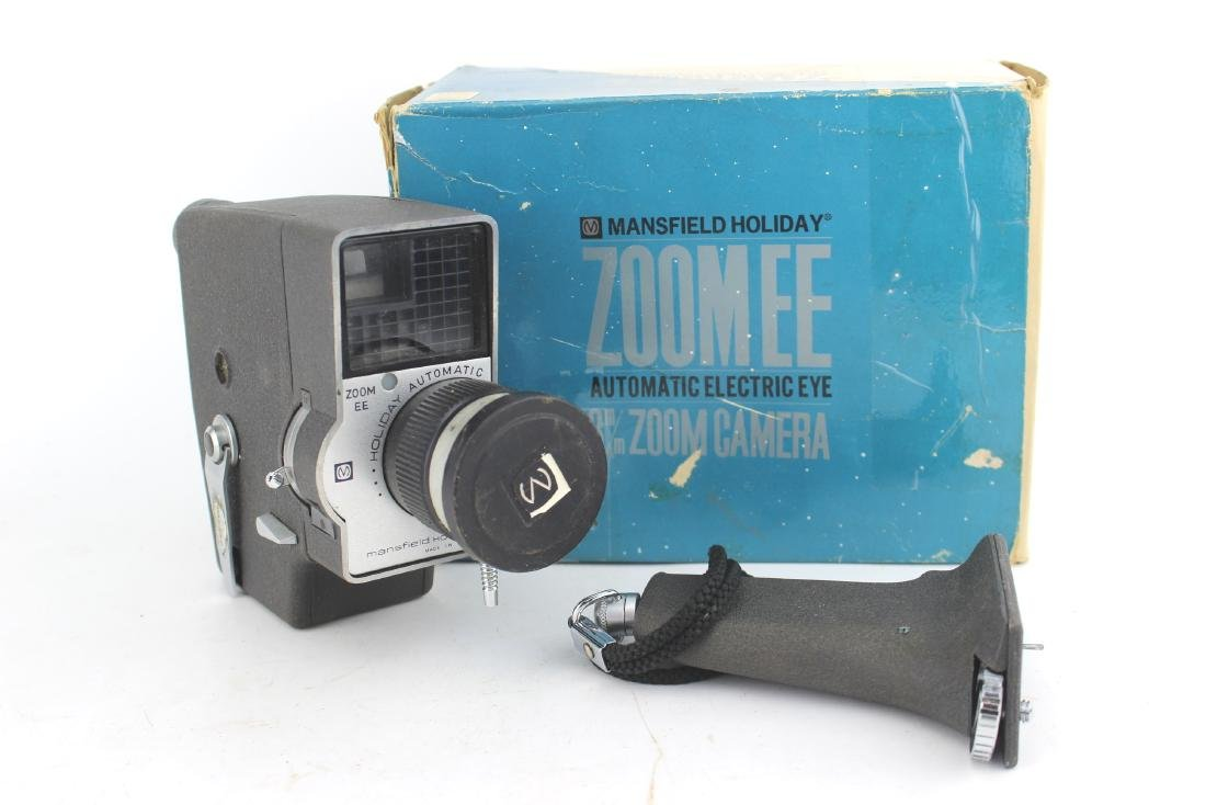 MANSFIELD AUTOMATIC ZOOM EE CAMERA