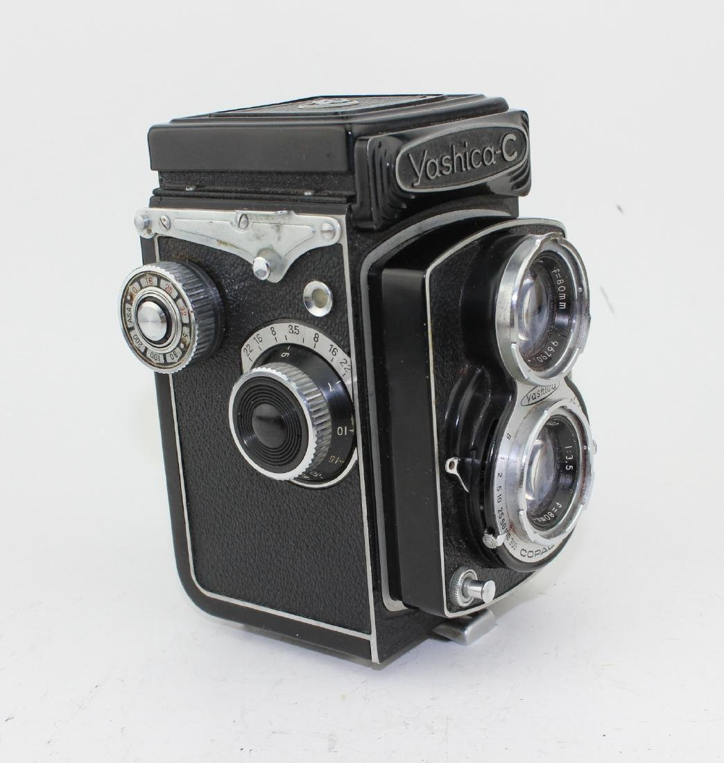 YASHICA-C TWIN-LENS REFLEX FILM CAMERA - 2