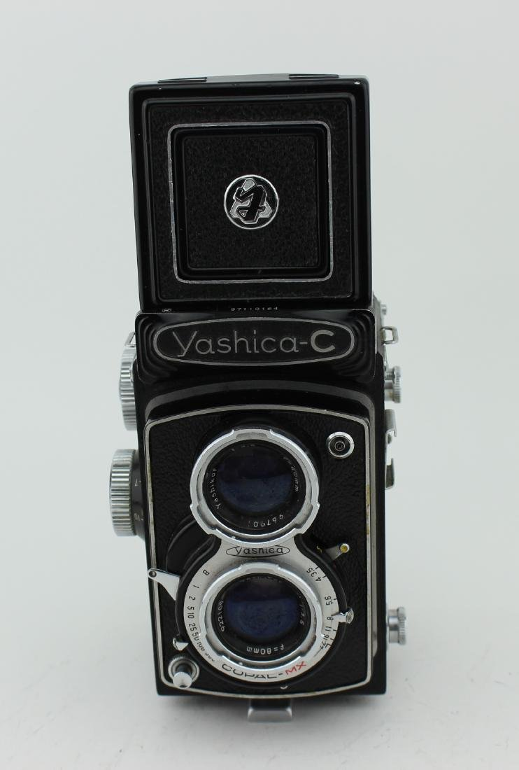 YASHICA-C TWIN-LENS REFLEX FILM CAMERA - 3