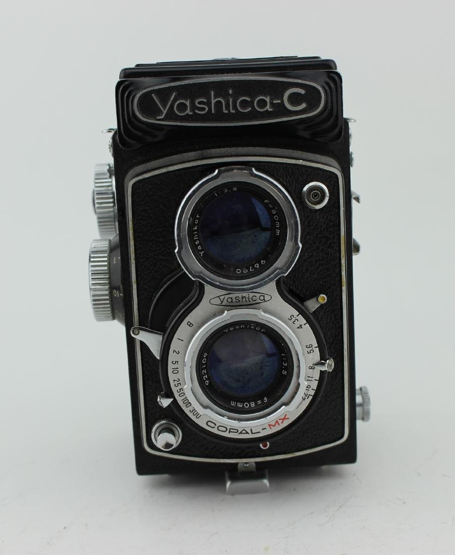 YASHICA-C TWIN-LENS REFLEX FILM CAMERA - 8