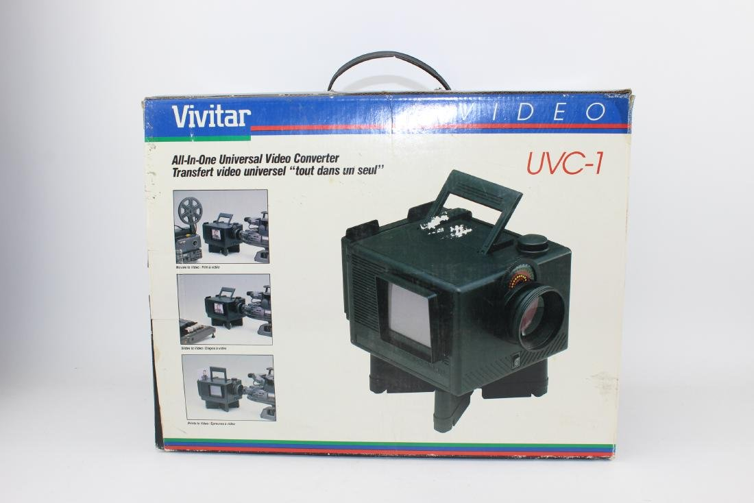 VIVITAR UVC-1 ALL-IN-ONE UNIVERSAL VIDEO CONVERTER