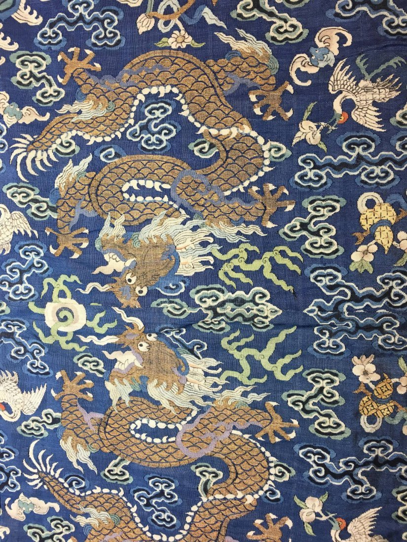 CHINESE IMPERIAL KE-SI DRAGON HANGING TAPESTRY