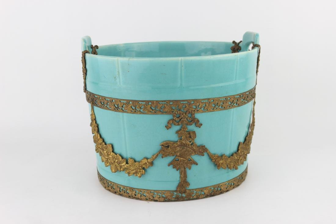 CHINESE TORQUOISE PLANTER