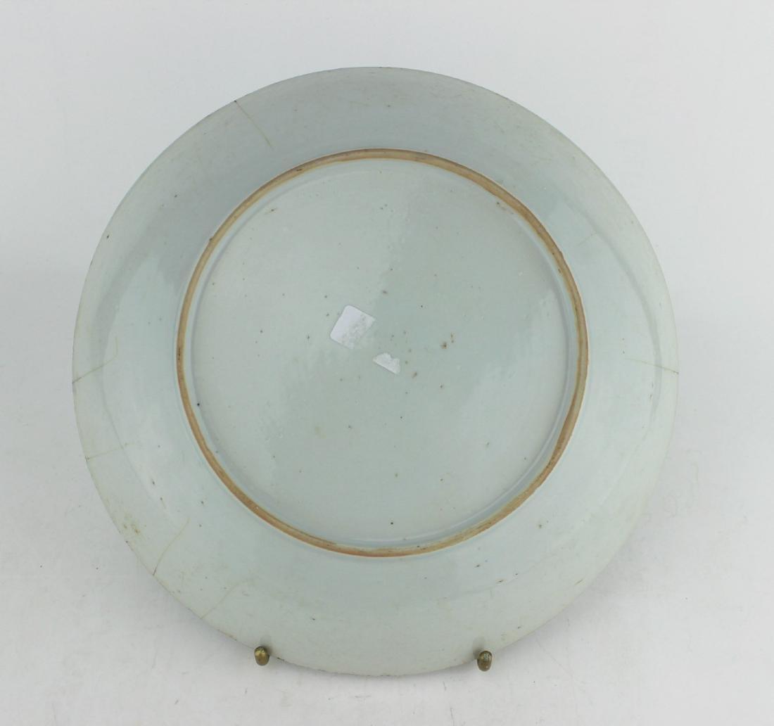 18 CENTURY CHINESE BLUE/WHITE DISH - 2