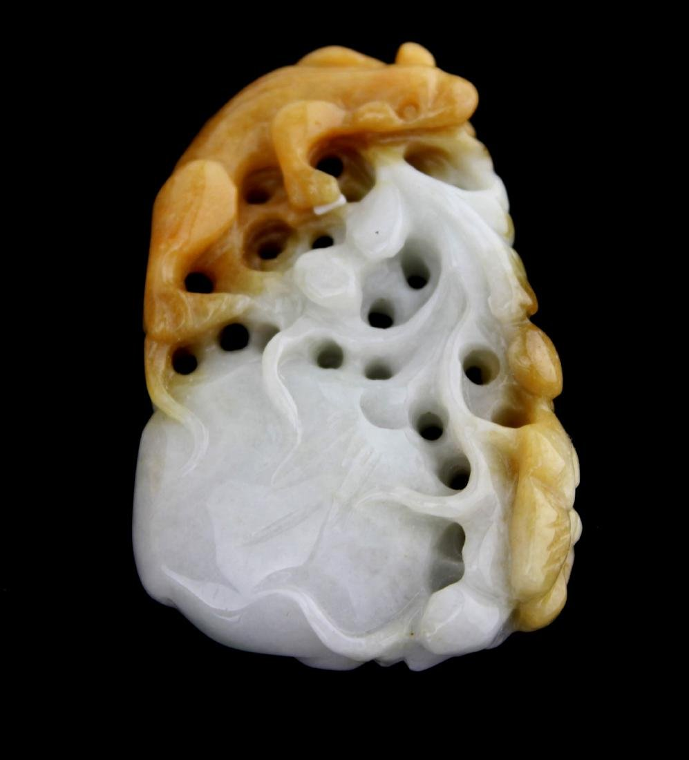 A CHINESE JADE CARVING PIECE