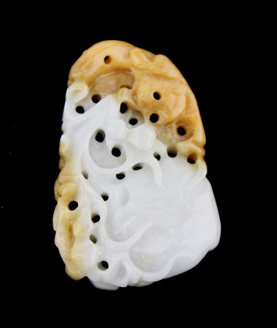 A CHINESE JADE CARVING PIECE - 2
