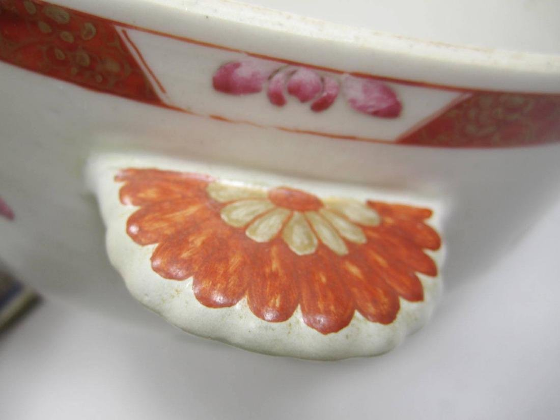 CHINESE FAMILLE ROSE SOUP TUREEN - 7