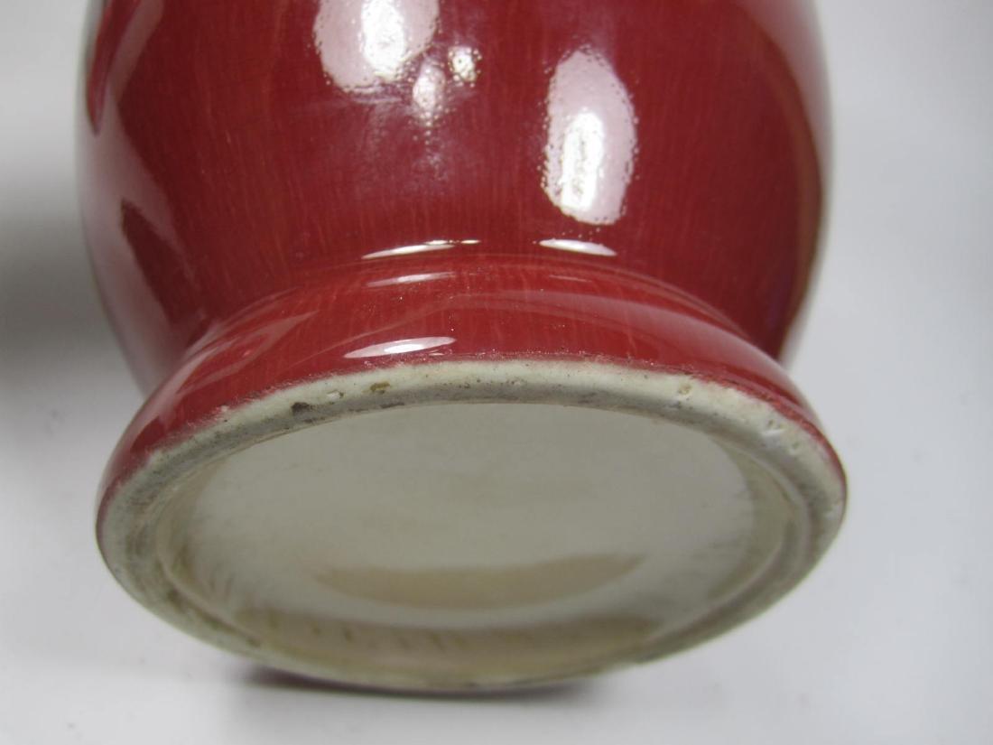 A CABBAGE LEAF PORCELAIN TEA SET - 6