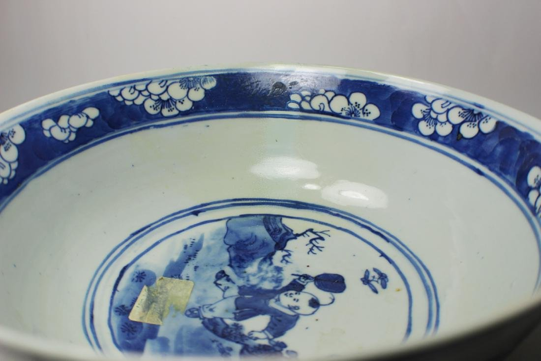 CHINESE BLUE/WHITE BOWL - 4