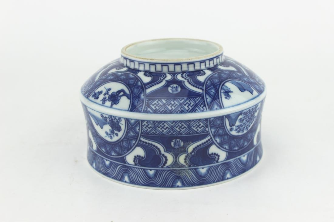 CHINESE BLUE & WHITE BOWL - 5