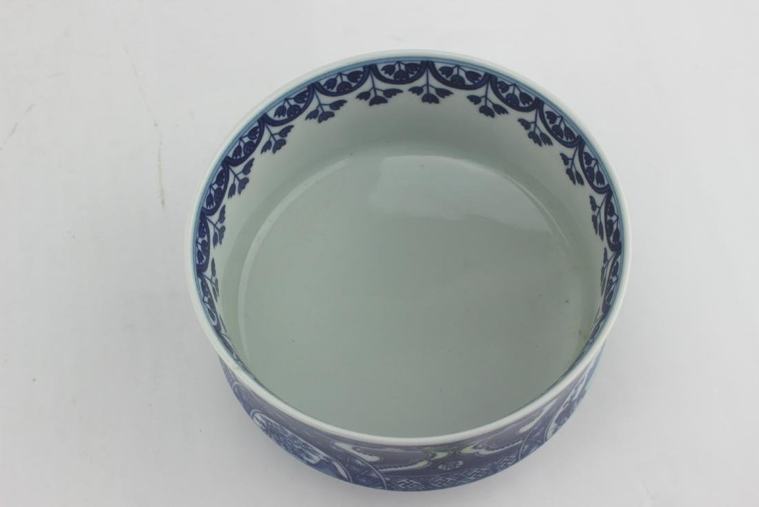 CHINESE BLUE & WHITE BOWL - 6