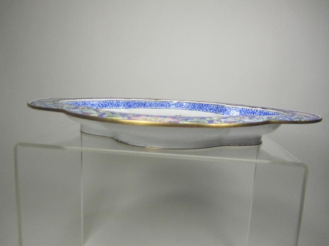 CHINESE ENAMEL PLATE - 4