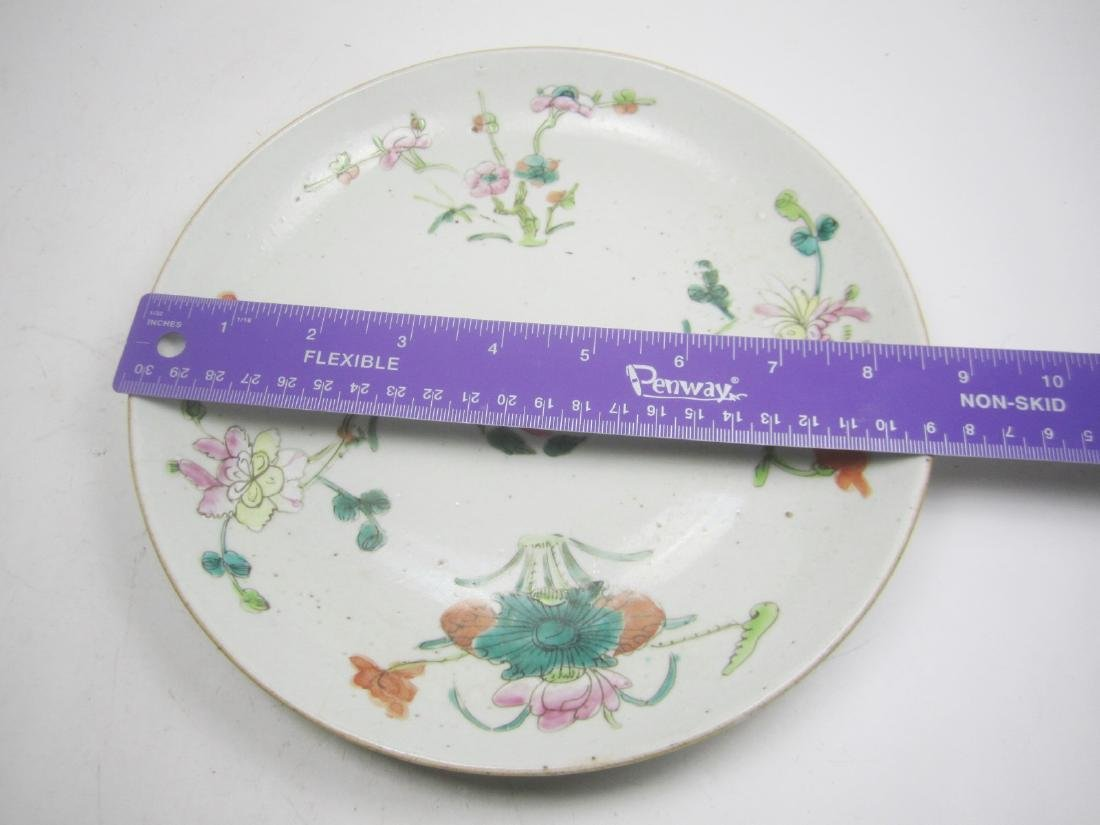 CHINESE FAMILLE ROSE DISH - 5