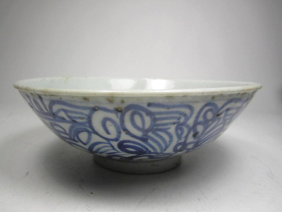CHINESE ANTIQUE FAMILLE ROSE BOWL