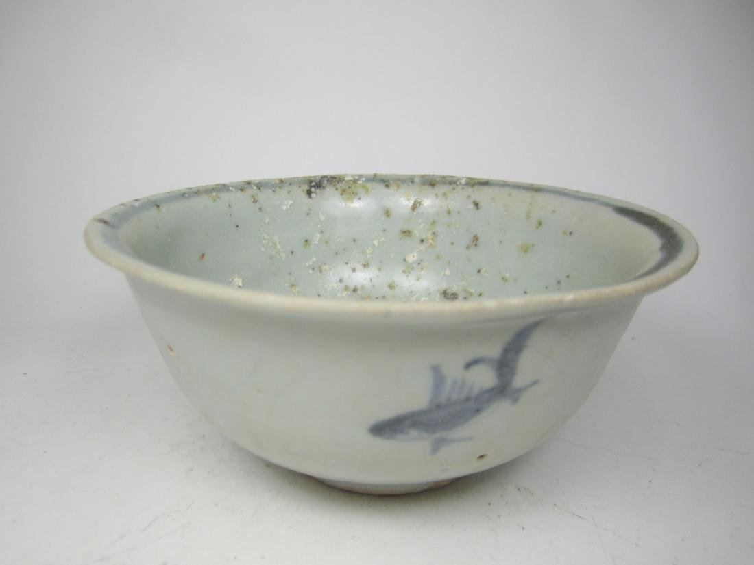 CHINESE EARLY B/W BOWL