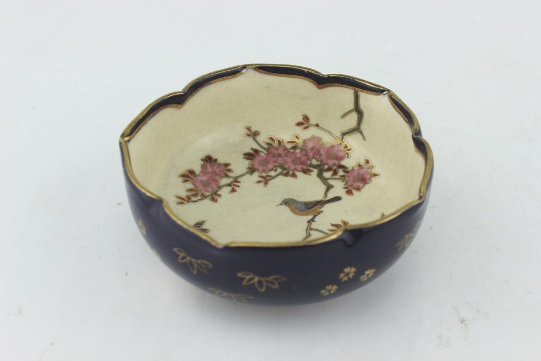A JAPANESE IMPERIAL SATSUMA  BOWL