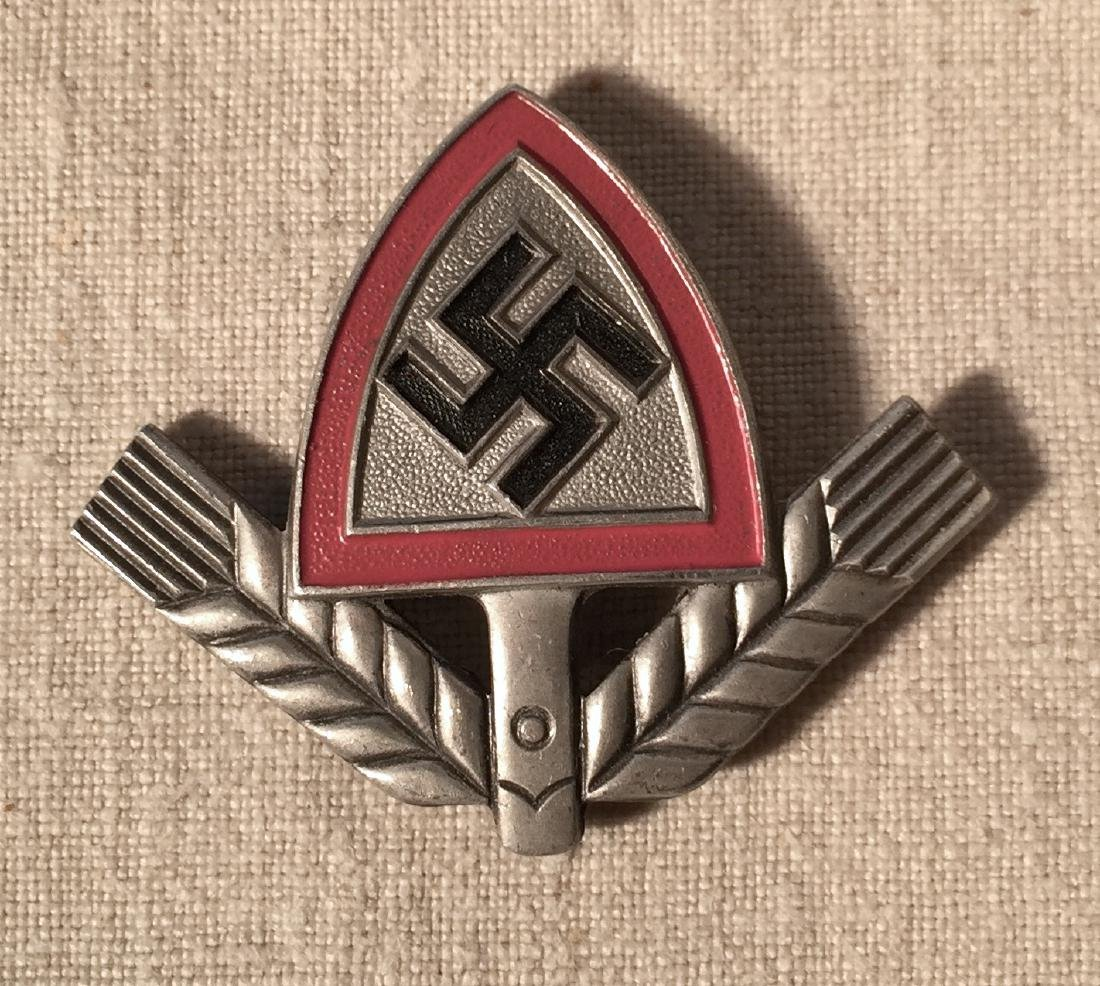 WWII German Nazi RAD Cap Device Maker's Mark