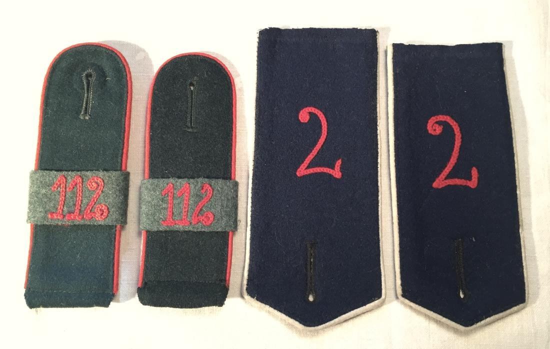 WWI German Uniform Shoulder Boards