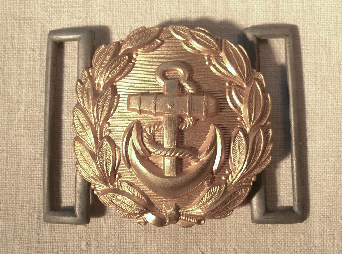 German Naval Belt Buckle