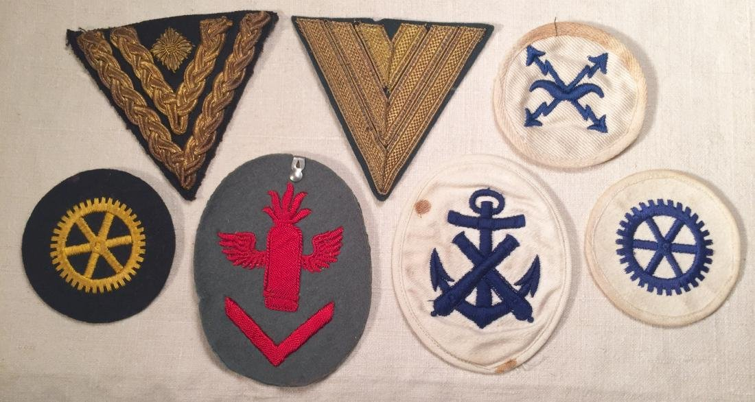 German WWII Chevrons and Trade Badges