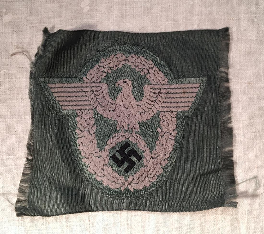 German WWII Police Arm Patch BeVo