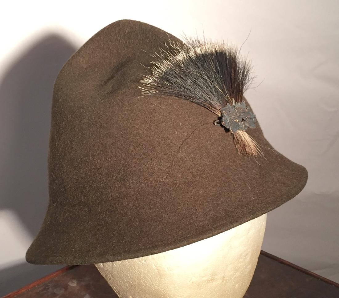 German Forestry Soft Wool Hat WWII