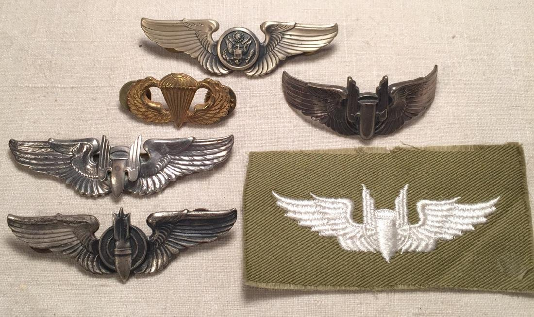 US Military Pins and Badges Bombardier and More