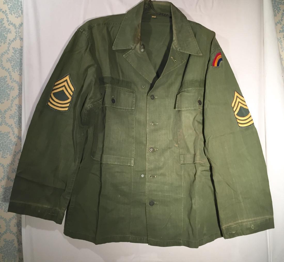 US Marine Jacket Rainbow Division Herringbone