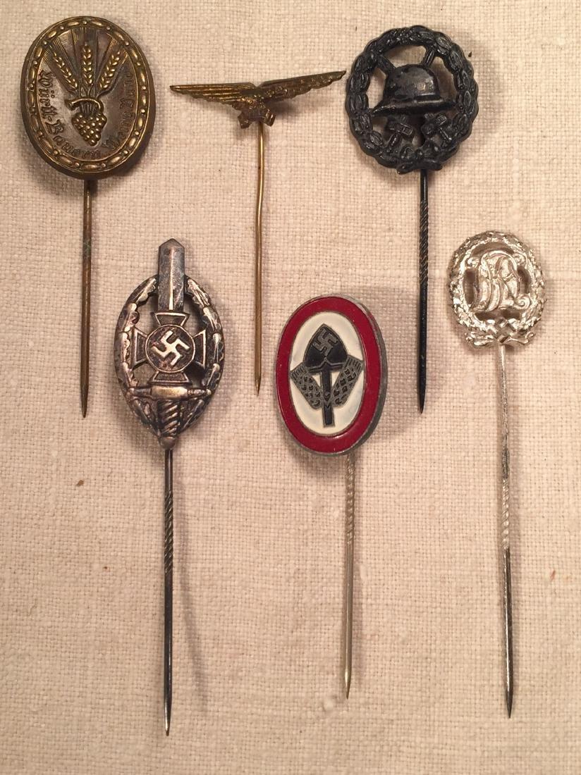 Lot of German WWII Stick Pins