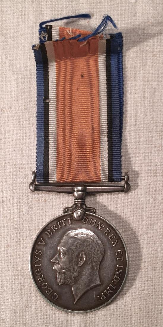 WWI RAF Medal with Recipient's Name