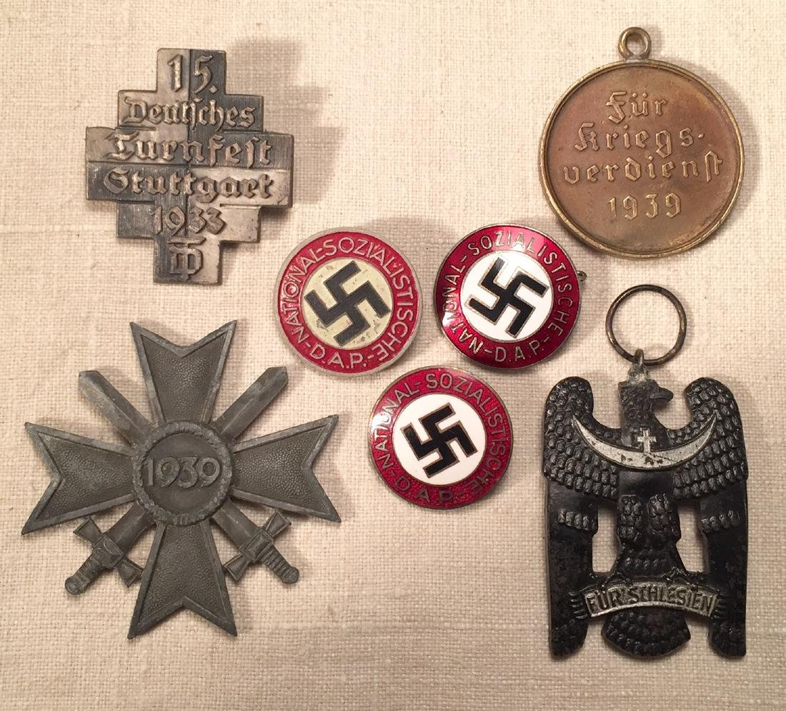 German WWII Political Pins and More