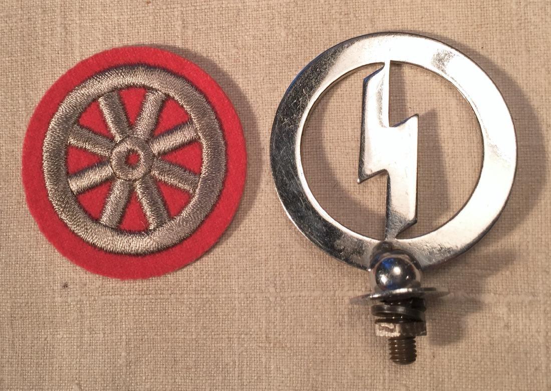 Hitler Youth Nazi Arm Badge & Finial