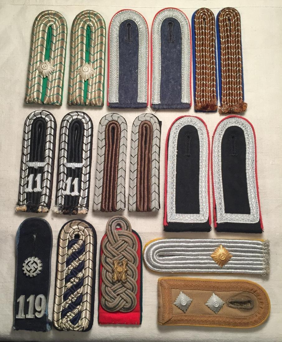 WWII German Nazi Shoulder Boards