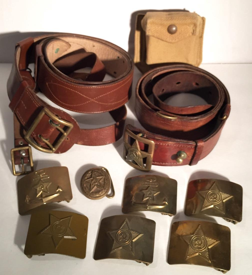 Russian Belts and Buckles WWII